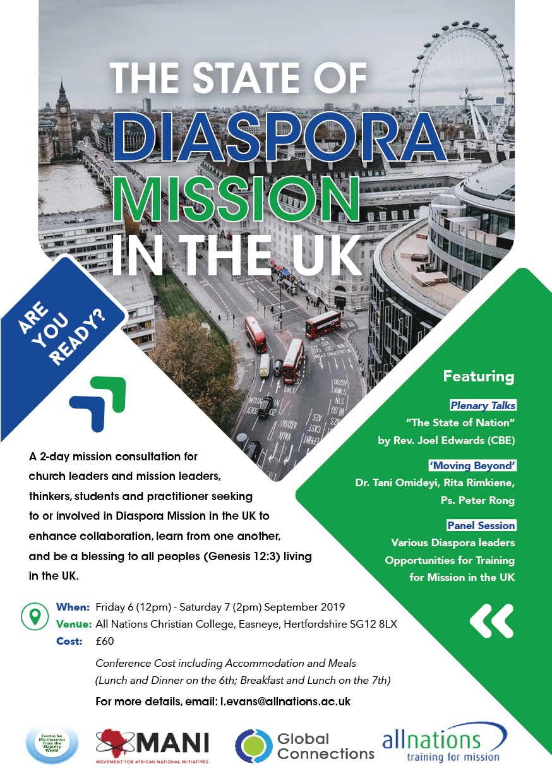 DIASPORA MISSION CONFERENCE 1